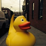 Phileas on a Waddle to the City of Liverpool College